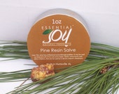 Pine Resin Salve. skin care. Anti-fungal. Salves and Balms. Herbal Salve.  Insect Repellant