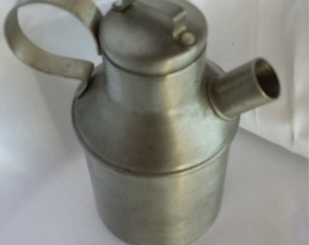 Pewter Milk Can made by Spartan U.S.A.