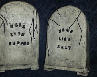 Graveyard Salt & Pepper Shakers