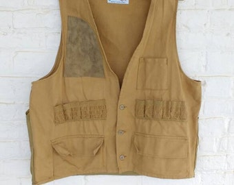 1950's JC Higgins Duck Hunting Vest - Camo - Fishing Gear