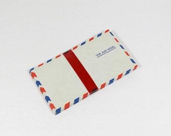 Vintage Air Mail Envelopes in Original Wrapper - Set of 21 Air Mail Envelopes