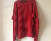 Clearance: Cozy red sweater