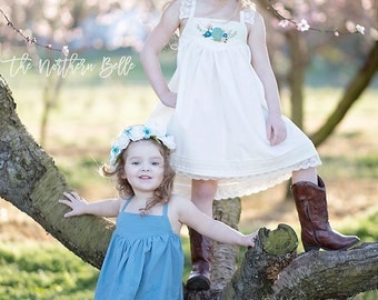 Dreamy Collection- Isla Top & Dress PDF Sewing Pattern 1/2- 14