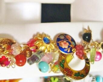 Upcycled Topiary Gardens Upcycled charm bracelet