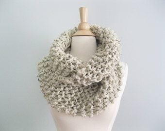 Claire Knit Scarf | Chunky Knit Infinity Scarf | Sassenach Scarf | Highland Scarf Christmas Gift