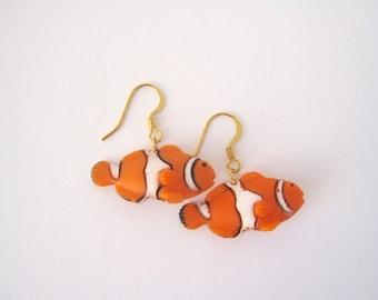 Cute Clownfish Dangle Earring