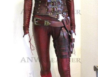 Mord'Sith Costume Replica (Regular/Red)