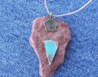 Sedona Rock-Turquoise Necklace