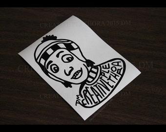 "CP Guy Vinyl decal 3.75"" x 5"" laptop window car sticker laptop skin"