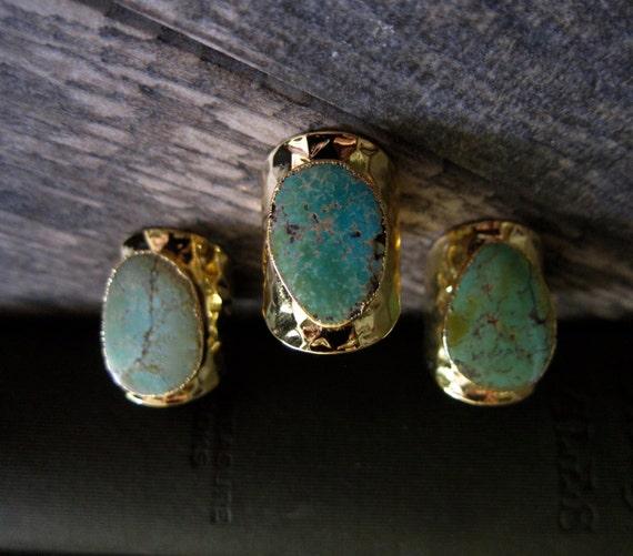 Turquoise Cigar Ring