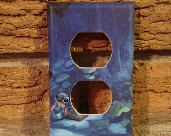 Lilo and Stitch Electrical Outlet Cover Plate, Lilo and Stitch Decor, Lilo and Stitch Nursery, Lilo and Stitch Decoration, Lilo and Stitch