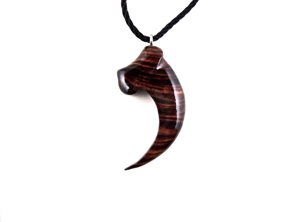 Bear Claw Pendant Bear Claw Necklace Mens Pendant Necklace