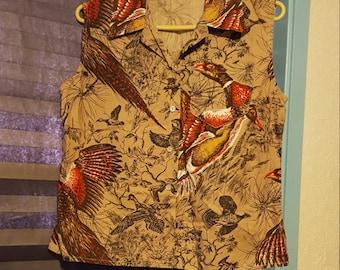 Pheasant 60's Blouse