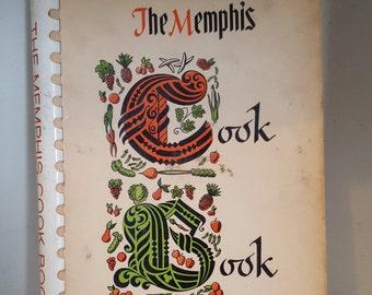 Vintage Cookbook, The Memphis Cookbook, 1963