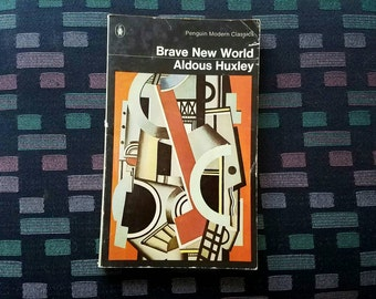 Brave New World Aldous Huxley vintage paperback 1973