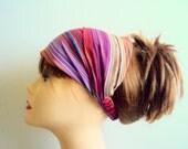 Yoga HeadBand Boho Head Band  Women's Ethnic Headband Bandana Cotton Hairwrap  Buy 3 or more items get 15% Discount! at checkout!