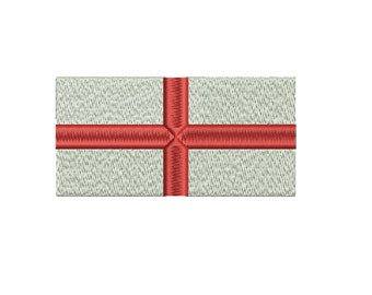Machine Embroidery Design Instant Download - England Flag St George's Cross
