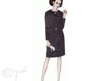60s Vogue Couturier Design dress sewing pattern by Sybil connolly, 1876, Bust 36 inches