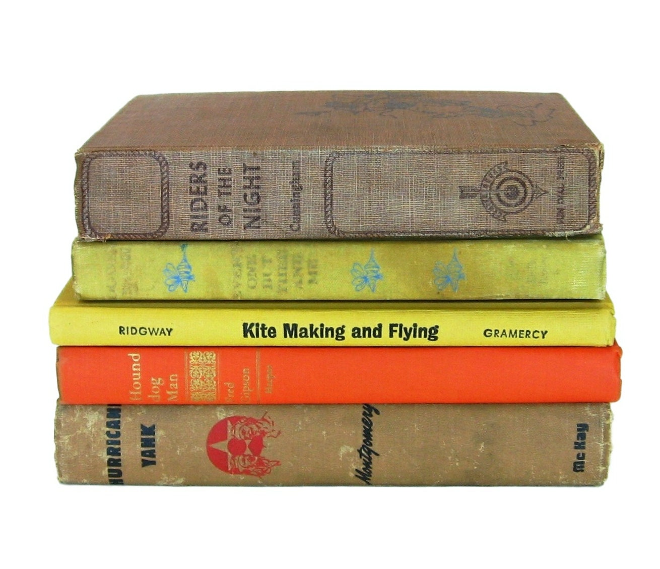 Man cave decor vintage book lot instant library old books for Antique books for decoration