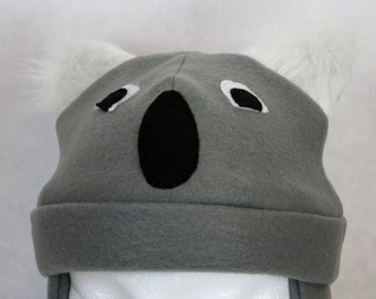 Adult Koala Fleece Hat