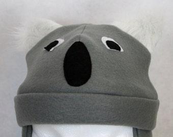 Adult Koala Fleece Hat