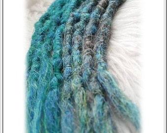 Dreads Synthetic Crochet Ocean Mystheryum