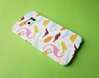Doofy Dinos Cute Dinosaur Patterned Samsung Galaxy S6 Edge Case