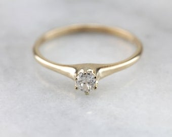 Old Mine Cut Diamond Solitaire  T6V4MY-R