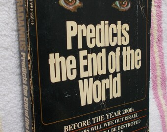 Vintage Nostradamus Predicts the End of the World Rene Noorbergen