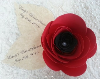 15 LARGE PAPER FLOWERS