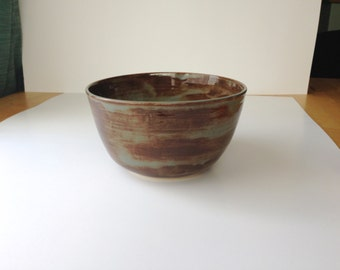 Batik Blue Serving Bowl - Large/Deep
