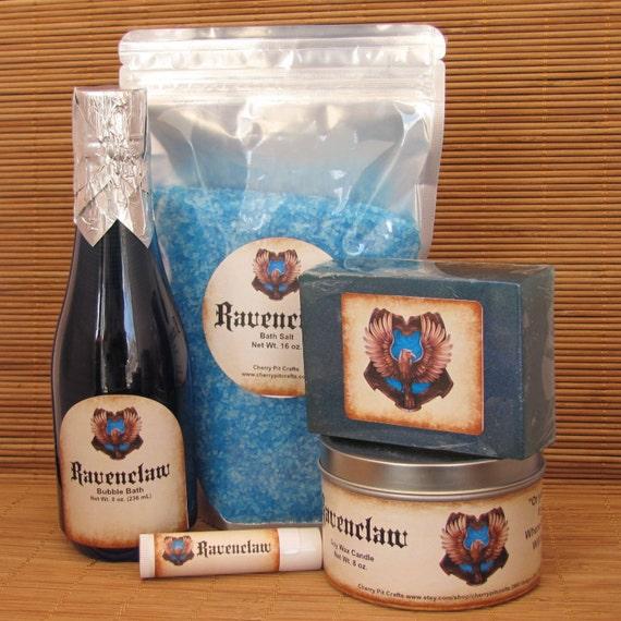 Harry Potter Butterbeer Ravenclaw Themed Gift Set - Bath Salt, Soy ...