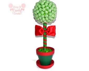 Christmas Lollipop Centerpiece, Christmas Candy Centerpiece, Christmas Table, Candy Buffet for Christmas Party, Christmas Wedding Decoration