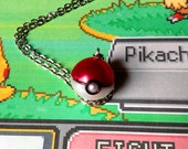 GOING OUT of BUSINESS--40% off Pokemon-inspired Pokeball necklace
