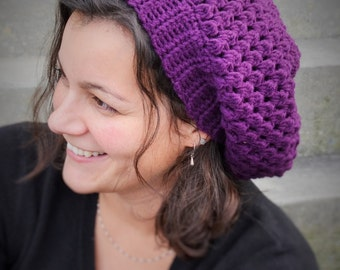 Cluster Slouchy Beanie - Adult or Child Sizes