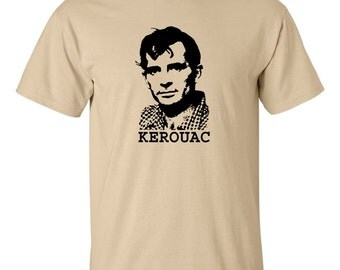 Jack Kerouac T shirt Beat generation poet On The road