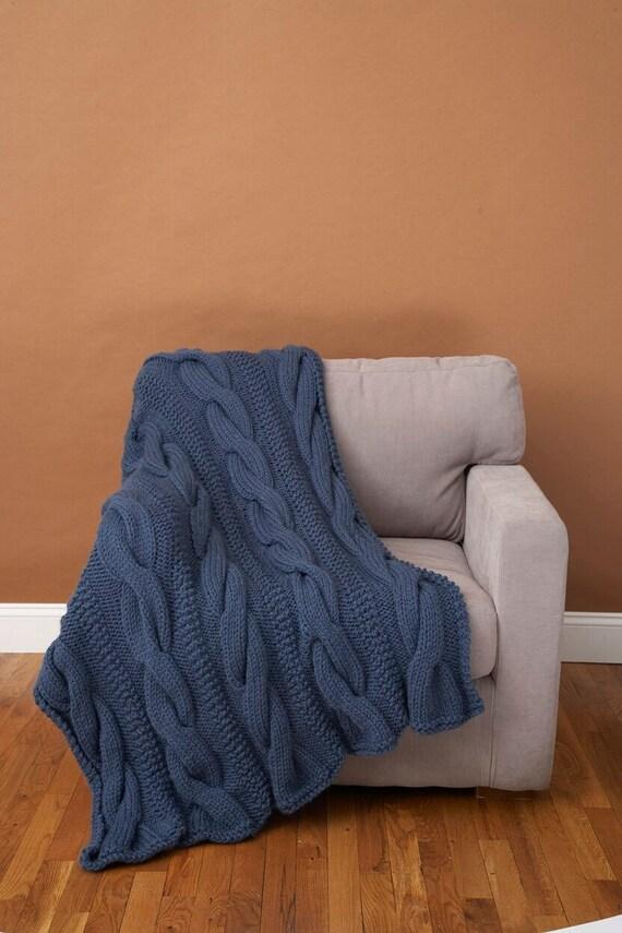 Promo 180 Cm X 200 Cm 100 Pure Alpaca Hand Knit By