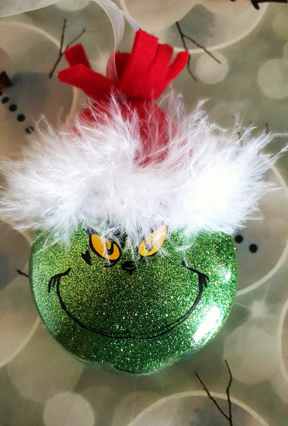 Items Similar To Grinch Ornament Mr Grinch Christmas
