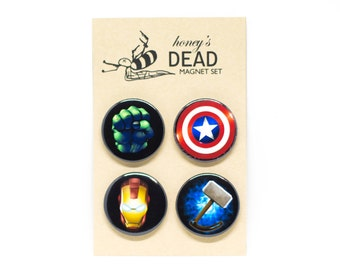 The Avengers Badge/Magnet Set