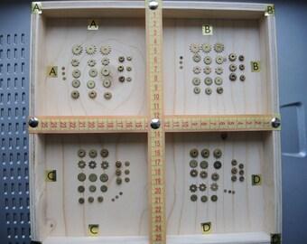 Vintage clock gears / Set of 24 / Small BRASS Gears parts / alarm clock parts / Robot mix parts / brass gears / steampunk gears - g83