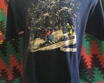 1989 Sugarbrush Skiing Graphic T-Shirt