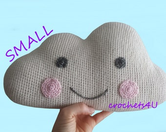 crochet pattern small cloud