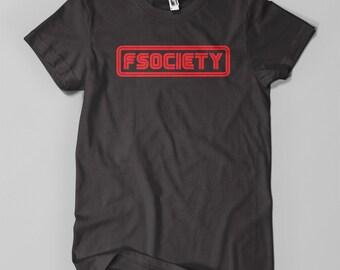 FSOCIETY (MR. ROBOT) tshirt