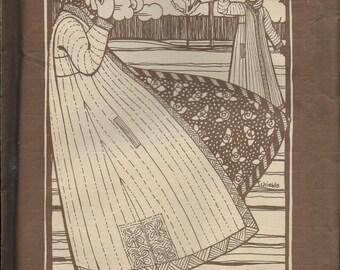 Folkwear Ethnic Pattern Turkish Coat Paper Pattern 106      Size- O/S (One Size)