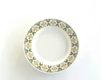 Retro plate, side plate,Richard Ginori plate,1970s plate
