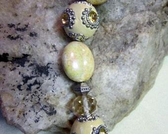 Jesse James Tan Artistic Beads