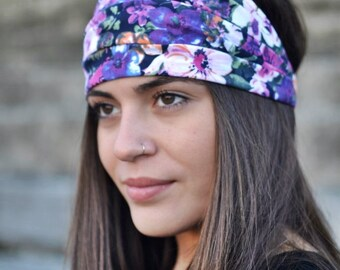 Cotton Headband, Floral Headband, Bohemian Headband, Hair Accessories, Womens Accessories, Womens Turban, Womens Headband, Vintage Headbands