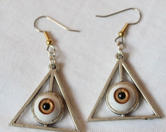 Triangle eye eyeball