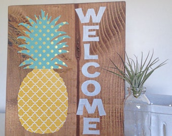 Pineapple Home Decor | Etsy