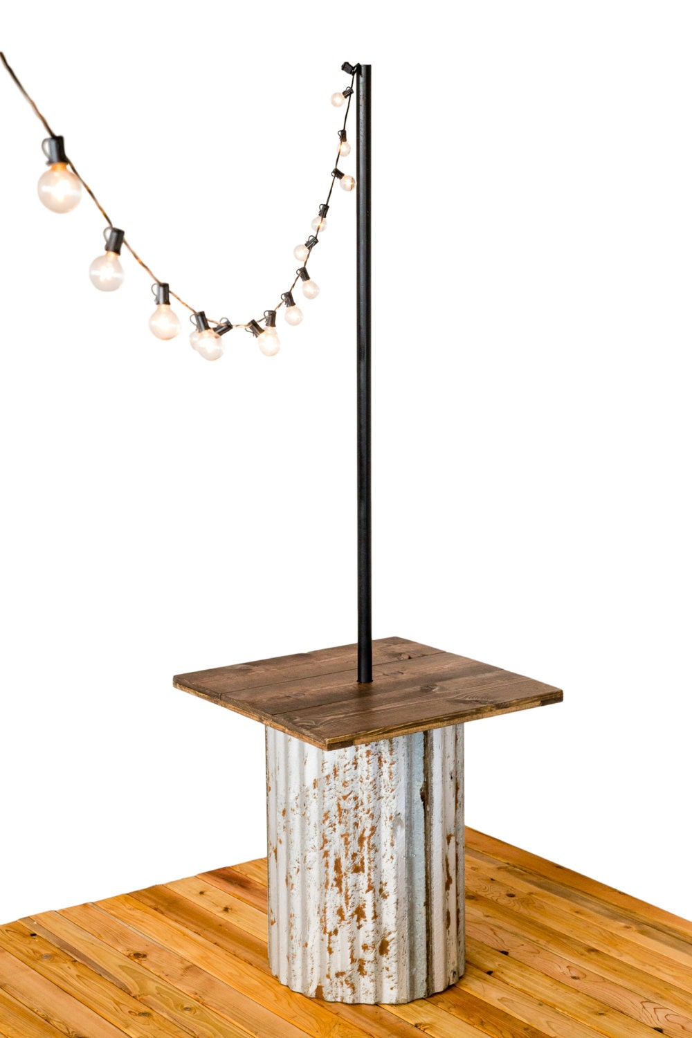 Iyn tin stands hang string lights - How to hang up string lights ...